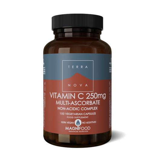 Terranova Vitamin C 250mg Multi Ascorbate - 100 capsules