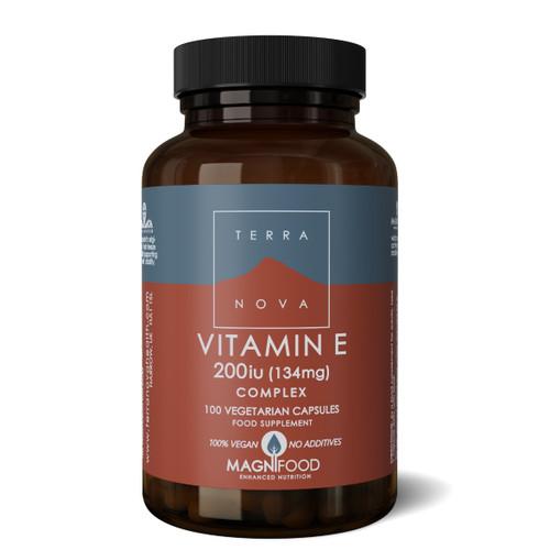 Terranova Vitamin E 200iu Complex - 100 capsules