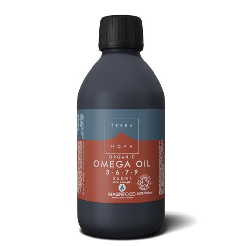 Terranova Organic Omega 3 - 6 - 7 - 9 Oil Blend - 250ml