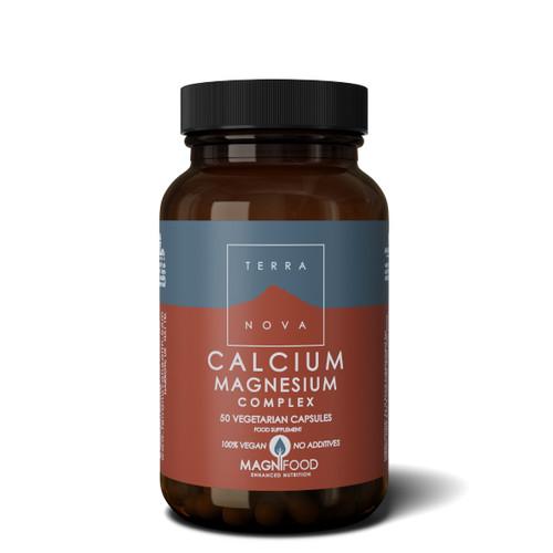 Terranova Calcium Magnesium 2:1 Complex - 50 capsules