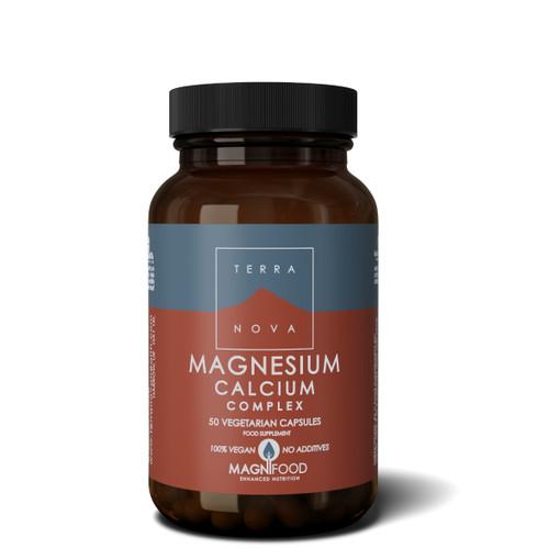 Terranova Magnesium Calcium 2:1 Complex - 50 capsules