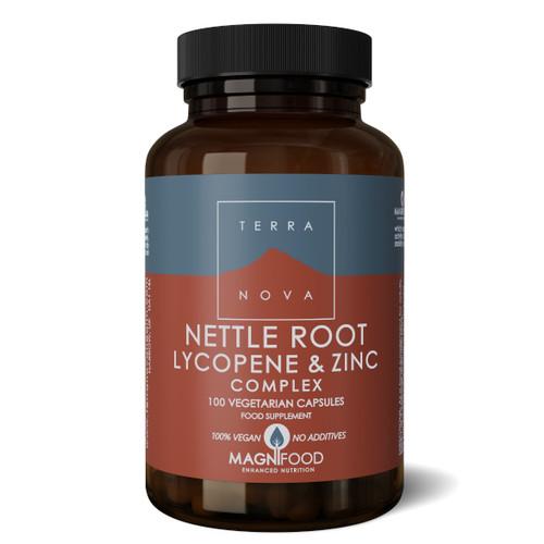 Terranova Nettle Root Lycopene & Zinc Complex (Prostate Support) - 100 capsules