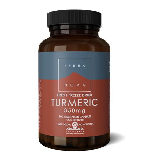 Terranova Turmeric 350mg - 100 capsules