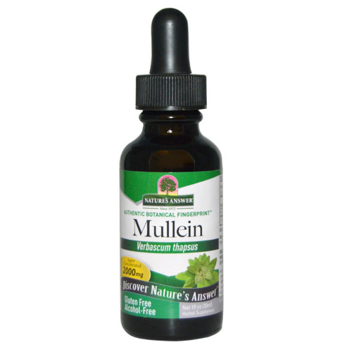 Nature's Answer Alcohol Free Mullein - 30ml
