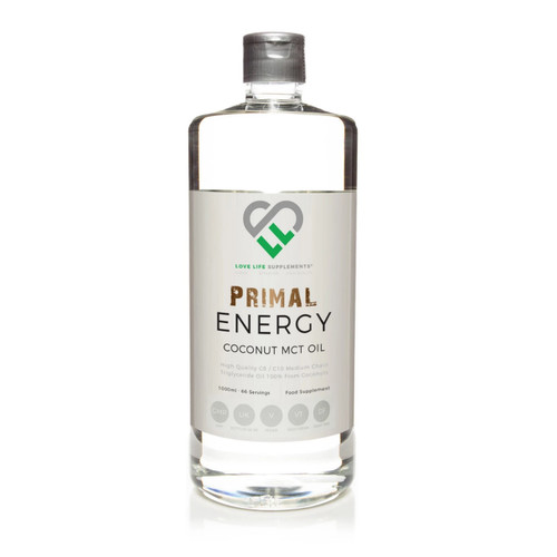 Love Life Supplements Primal Energy MCT Oil - 1 Litre