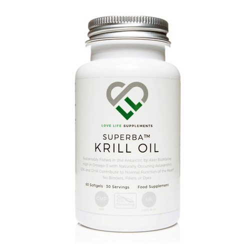 Love Life Supplements Superba Krill Oil - 60 softgel