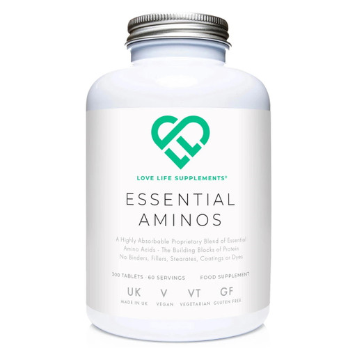 Love Life Supplements Essential Aminos - 300 tablets