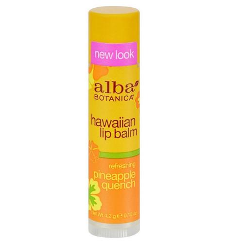 Alba Hawaiian Lip Balm Refreshing Pineapple - 4.2g