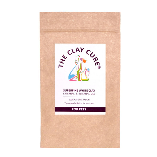 The Clay Cure Company White (Kaolin) Clay for Pets - 500g
