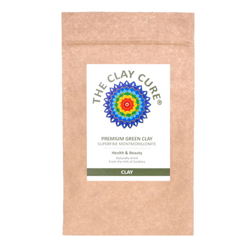 The Clay Cure Company Premium Green Clay - 250g