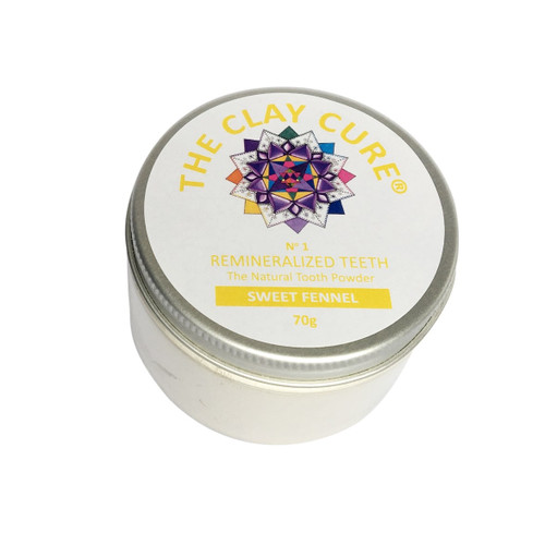 The Clay Cure Company Sweet Fennel Tooth Powder - 70g