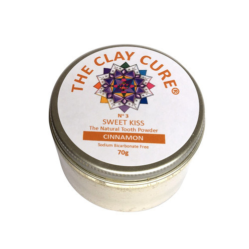 The Clay Cure Company Cinnamon Tooth Powder - 70g