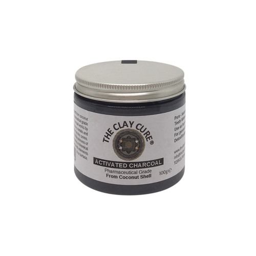 The Clay Cure Activated Charcoal - 100g