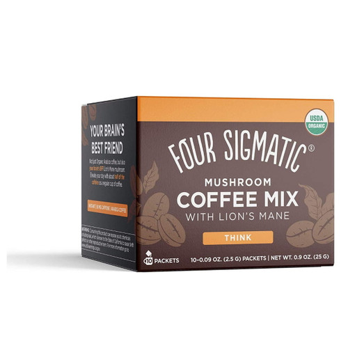 Four Sigmatic Mushroom Coffee Mix with Lion's Mane & Chaga - 10 packets