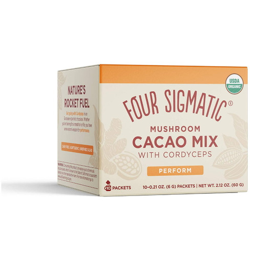Four Sigmatic Mushroom Cacao Mix with Cordyceps - 10 packets