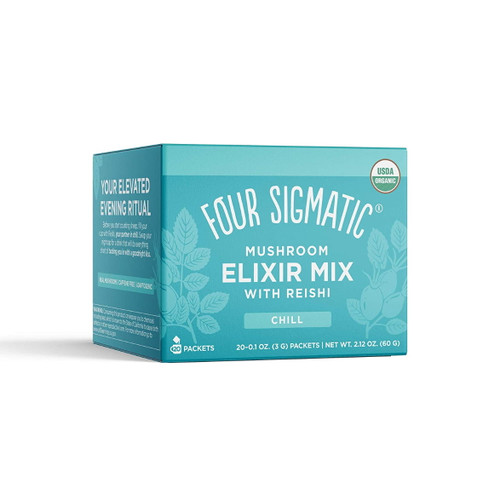 Four Sigmatic Reishi Mushroom Elixir Mix with Tulsi - 20 packets