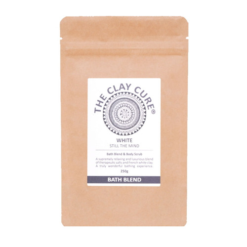 The Clay Cure Company White Bath Blend - 250g