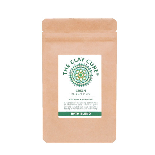 The Clay Cure Company Green Bath Blend - 250g