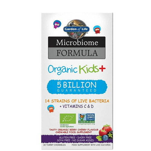 Garden of Life Microbiome Formula Once Daily Organic Kids - 30 capsules