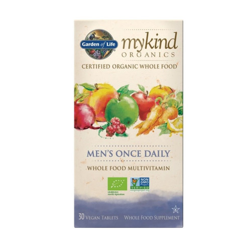 Garden of Life MyKind Organic Mens Once Daily - 30 tablets