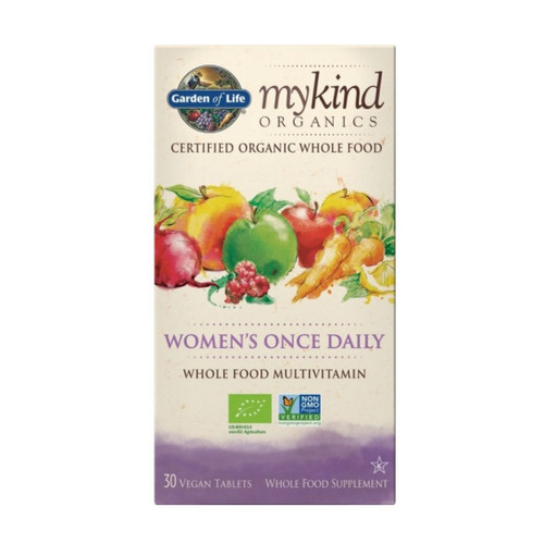 Garden of Life MyKind Organic Womens Once Daily - 30 tablets