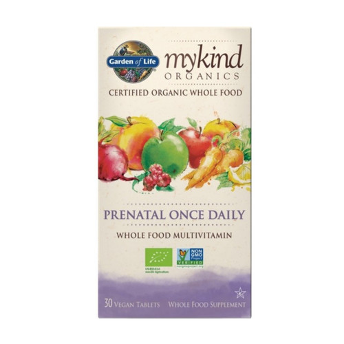 Garden of Life MyKind Organic Prenatal Once Daily - 30 tablets