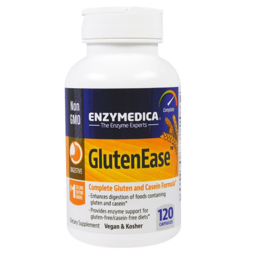Enzymedica Glutenease - 120 capsules
