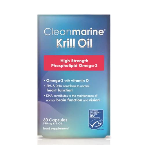 Cleanmarine Krill Oil - 60 capsules
