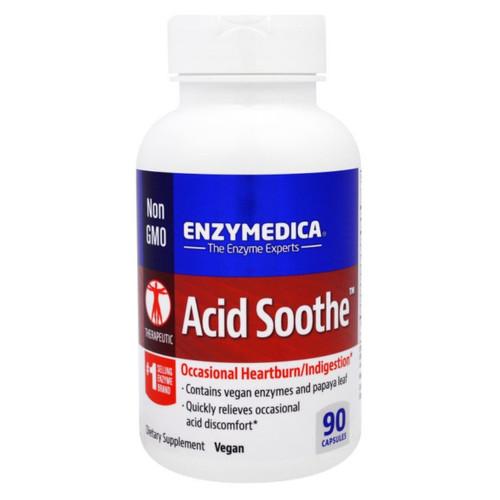Enzymedica Acid Soothe - 90 capsules