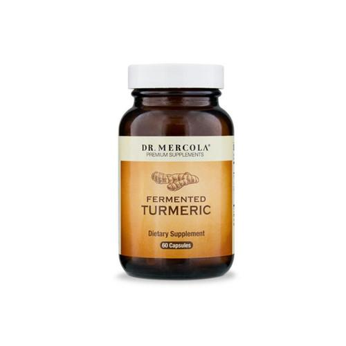 Dr Mercola Organic Fermented Turmeric - 60 capsules