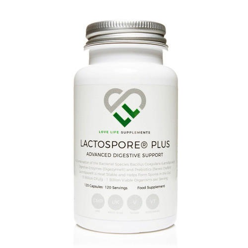 Love Life Supplements Lactospore Plus - 120 capsules