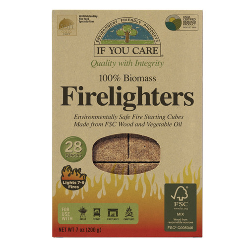 If You Care Firelighters - 28 pieces