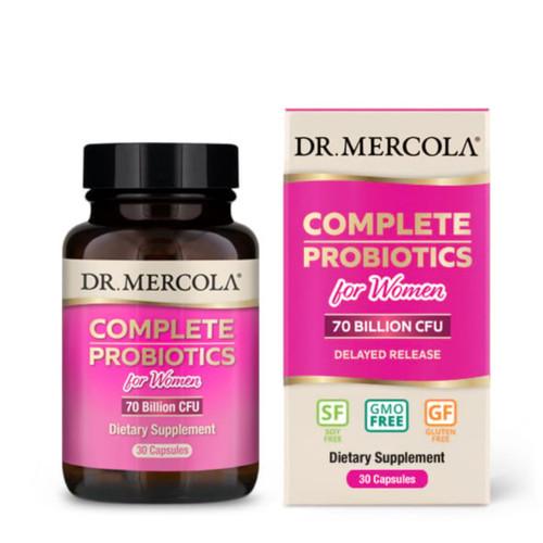 Dr Mercola Complete Probiotics for Women - 30 capsules