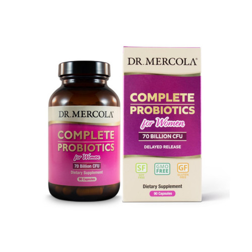Dr Mercola Complete Probiotics for Women - 90 capsules
