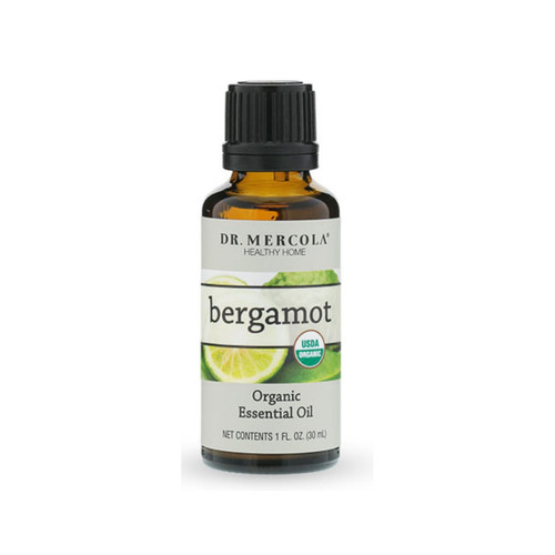 Dr Mercola Organic Bergamot Essential Oil - 30ml