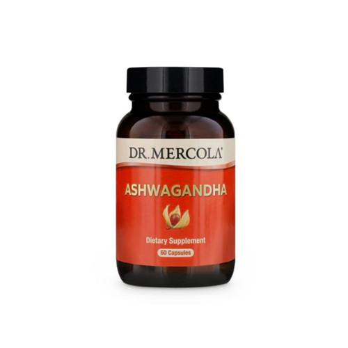 Dr Mercola Organic Ashwagandha - 60 capsules