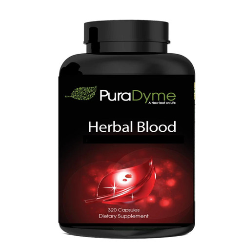 PuraDyme Herbal Blood Cleanse - 320 capsules