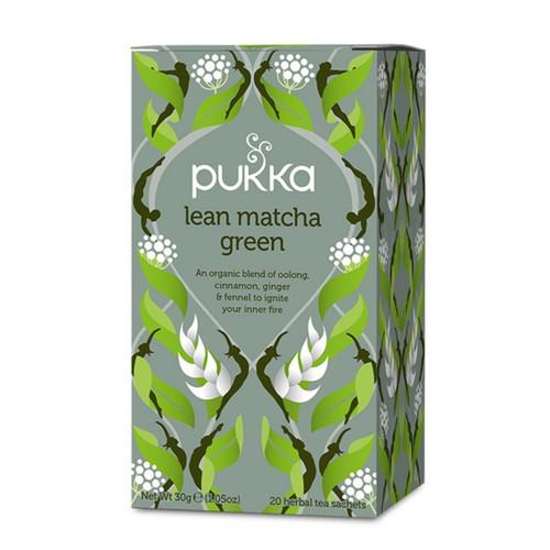 Pukka Lean Matcha Green Tea - 20 bags