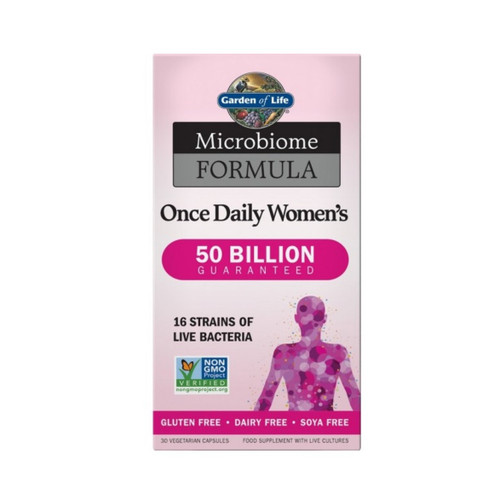 Garden of Life Microbiome Once Daily Women - 30 capsules