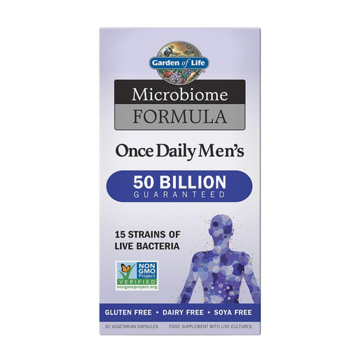 Garden of Life Microbiome Once Daily Men - 30 capsules