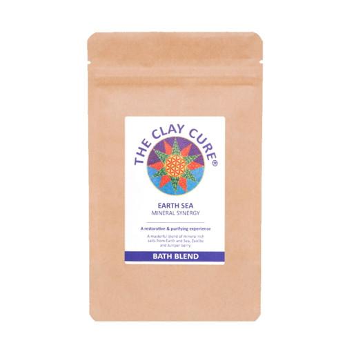 The Clay Cure Company Mineral Synergy Earth Sea Bath Blend - 500g