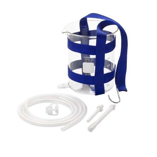 Purelife Glass Enema Kit 1.5 QT with Harness