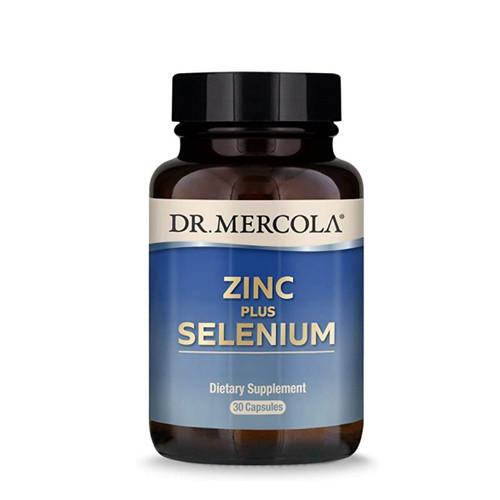 Dr Mercola Zinc plus Selenium - 30 capsules