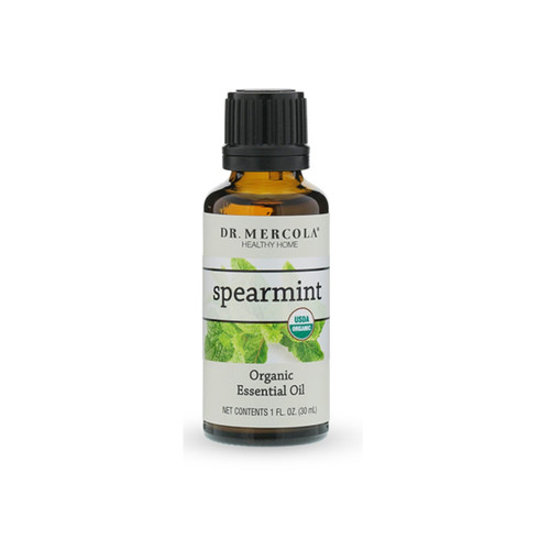 Dr Mercola Organic Spearmint Essential Oil - 30ml
