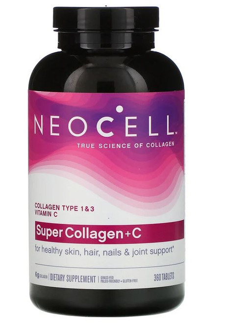 Neocell Super Collagen +C 6,000mg - 120 tablets