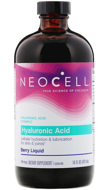 Neocell Hyaluronic Acid Berry Liquid 50mg - 473ml