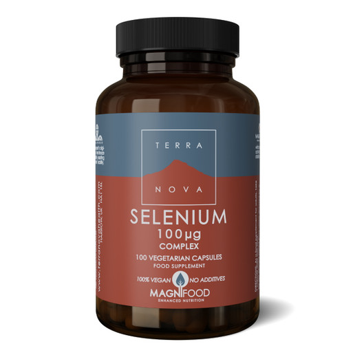 Terranova Selenium 100ug Complex - 100 capsules