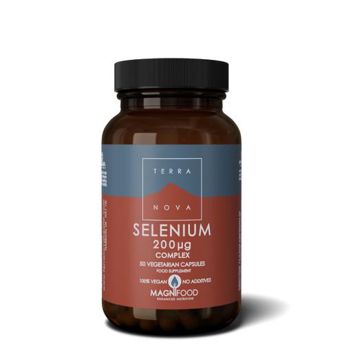 Terranova Selenium 200ug Complex - 50 capsules