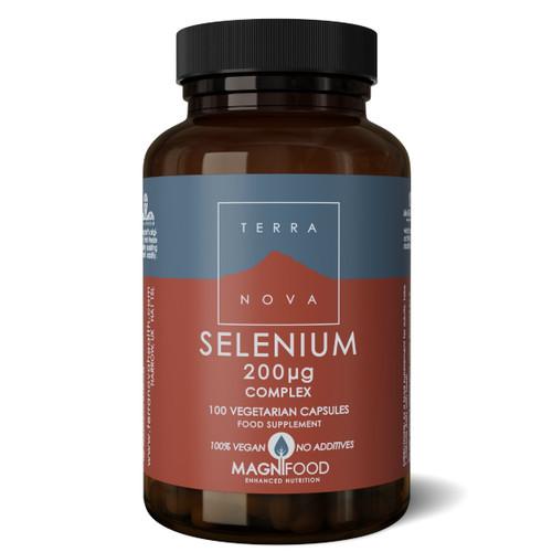 Terranova Selenium 200ug Complex - 100 capsules