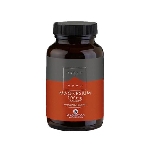 Terranova Magnesium 100mg Complex - 50 capsules